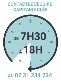 Horaires contact Capitaine Clés